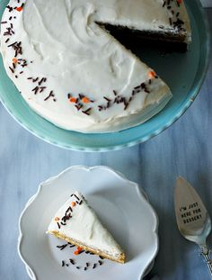 Eva Bakes - Butternut squash fall spice cake with cream cheese frosting
