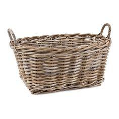 Natural Basket with Handles | ZARA HOME United Kingdom