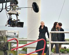 BTS Once Upon a Time Season 5 - Dark Emma, Regina and Henry