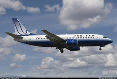 N336UA United Airlines Boeing 737-300