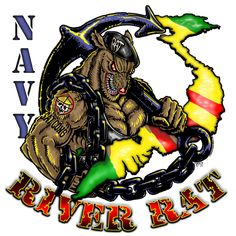 Vietnam Navy River Rat Shirt $16.00