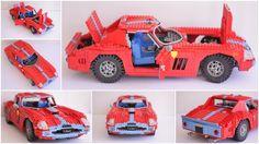 LEGO: 1964 Ferrari 250 GTO 1:8 by Thomas Poulsom | Flickr - Photo Sharing!