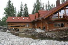 Bragg Creek Trading Post Bragg Creek, Trading Post, Cabin, House Styles, Home Decor, Decoration Home, Room Decor, Cabins, Cottage