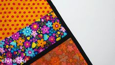 Cómo combinar las telas (y que quede bien) - Chita Lou - Costura Creativa Patches, Quilts, Jeans, Fabric Combinations, Crocheting, Nails At Home, Complimentary Colors, Comforters, Quilt Sets