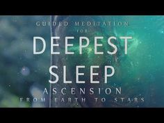 Guided Meditation for Deepest Sleep: Ascension From Earth to Stars (Sleep Medita. Guided Meditation for Deepest Sleep: Ascension From Earth to Stars (Sleep Medita. Check more at yoga. Guided Meditation For Sleep, Easy Meditation, Meditation Practices, Meditation Music, Mindfulness Meditation, Meditation Youtube, Chakra Meditation, Lucid Dreaming Guide, Bed Yoga