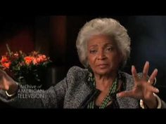 Nichelle Nichols (uhura from STAR TREK) on filming the first interracial kiss on television - EMMYTVLEGENDS.ORG - YouTube