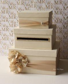 Wedding Card Box Money Box Gift Card Holder choose your box