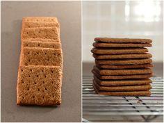 גראהם קרקרהואבערך אבן היסוד של האפייה הביתית האמריקאית. אולי קוראים להם קרקר'ז אבל הם לא מלוחים; הם ביסקוויטים דקים, פריכים ובקושי מתקתקים, שיכולים לשמש כתחתית של עוגת גבינה, קלתית של פאי או אפילו ככלי לסינְדווּץ' שוקולד ומרשמלו קלוי בדמותחטיף הקאמפינג האולטימטיביס'מורס: אני יודע מה אתם חושבים- מלבד יכולת הכריכה הס'מוריאלית, הם נשמעים מאוד דומים לפתי …