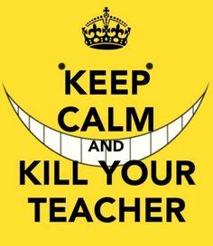 #AssassinationClassroom