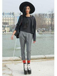 People @ Parijs Fashion Week a/w 2012