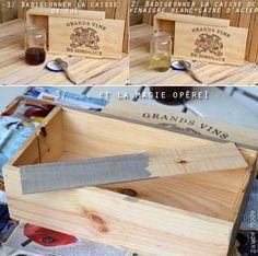 Blog Mode Lyon | Sauce Mode: DIY : Vieillir le bois en un temps record!