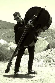 OMG! i LOVE a man on a stand up bass!!!!!