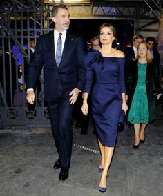 "King Felipe and Queen Letizia presided over the commemorative dinner on the occasion of the sports paper ""As"" 50th anniversary and the delivery of the ""As Awards for Sports"". These awards recognize the careers of the most successful athletes that have been featured in the paper over its 5 decades of publication."