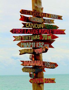 Hey, I found this really awesome Etsy listing at https://www.etsy.com/listing/267408060/mile-destination-directional-signs