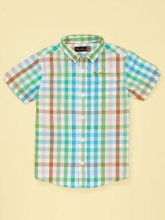 Multicolor Check Shirt by Ben Sherman at Gilt