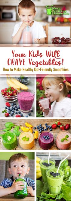 Want your kids to crave vegetables? An easy how-to guide on making healthy vegetable smoothies that you and your children will love! Includes delicious recipes and tons of ideas!