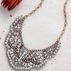 DYlan Crystal Statement Necklace #DillynnMiles #Statement