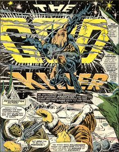 Jungle Action no.13 / Black Panther, the God Killer. Art by Billy Graham & Craig Russell