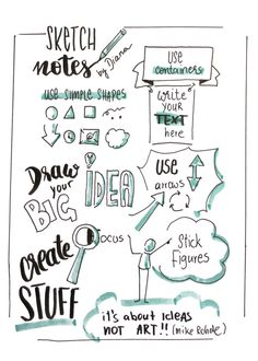 Sketchnotes and bullet journal - introduction - whitelines Moleskine, Bullet Journal Vidéo, Visual Note Taking, Doodle Art Journals, Sketch Notes, Lined Notebook, Text You, Journal Inspiration, Travel Quotes