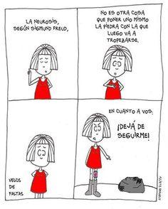#Humor con #Psicoanalisis y #Freud