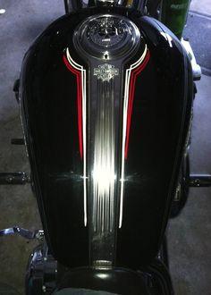 Pinstriping classic design