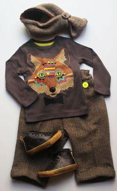 """Silhouette """"fox"""" #milkontherocks #renard #modeenfantine"""