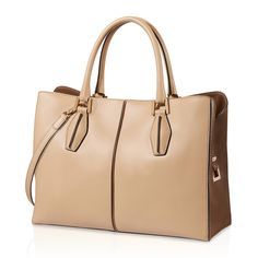 Medium Tod's D-Cube shopping bag in exquisite, silky-smooth leather  Dimensions: 35 x 26 x 14 cm, handles: max. 15 cm, detachable and adjustable shoulder strap: 117 cm