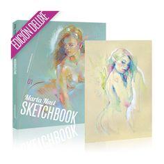 Cazadores de Comics: El Sketchbook de Marta Nael ya está a la venta
