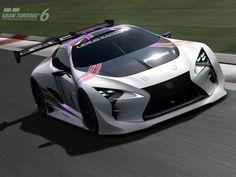 Lexus LF-LC GT Vision Gran Turismo: Die nächste extreme Gaming-Studie