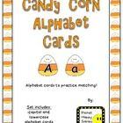 This set is a Candy Corn theme in alphabet cards for your students to use in small group, 1-on-1, and in centers or stations. The children can use ...