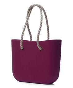 Look at this Bordeaux Natural Rope Handle O Bag on #zulily today!