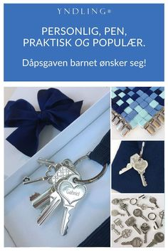 Babyer elsker nøkler! Yndlingsknippet er en moderne sølvrangle med nøkler i ekte sølv. Norsk design, håndlaget i Norge. Den, Bracelet Watch, Watches, Bracelets, Accessories, Fashion, Alternative, Moda, La Mode