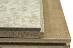 Cement boards developed in an environmentally friendly manner and available as 'plug-and-play' panels. The core is based on magnesium oxide ( MgO) and the top layer is a fibre cement board.