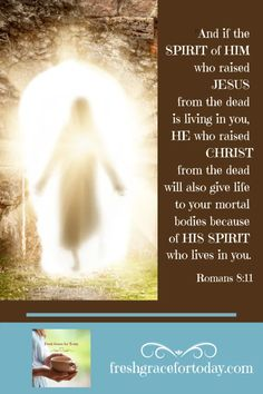 """What comes to mind when you hear the word 'resurrection? Join us @freshgracefortoday for """"I AM the Resurrection and the Life 