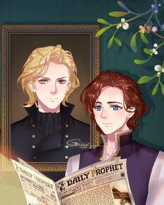 Dumbledore and his crush Fanart Harry Potter, Harry Potter World, Mundo Harry Potter, Harry Potter Marauders, Harry Potter Ships, Harry Potter Love, Harry Potter Universal, Harry Potter Fandom, Gellert Grindelwald