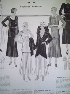 OCTOBER 1931 DELINEATOR Magazine featuring Butterick 4085, 4095, 4131 and 4121