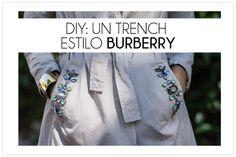 diy Burberry trench