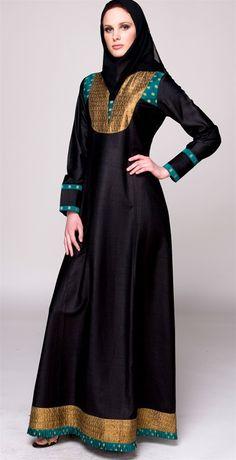 latest abaya designs in saudi arabia 1504 Abaya Designs, Burqa Designs, Dress Designs, Hijab Fashion 2016, Abaya Fashion, Modest Fashion, Fashion Hub, Woman Fashion, Abaya Mode