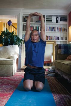 Go inside the homes of Rodney Yee, Sharon Gannon, and other star yogis to learn how they created an at-home practice.