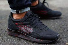 31f2ad2b9650 ASICS Gel Lyte V (Black Red) - Sneaker Freaker