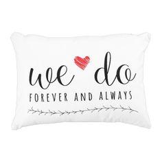 """We Do"" Pillow | Couple's Gift | Wedding Shower Gift | Home Decor"