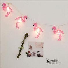 Aliexpress.com : קנו פלמינגו דקורטיבי LED לילה אור אורות מחרוזת מפלגת אור קישוט לקשט רקע חדר ילדה (שבור כל החזר) מספקי תאורת הלילה אמינים בMissy April