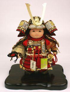 五月人形 平飾り 武者人形