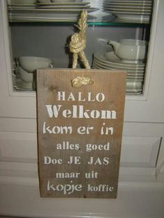 Welkom Silhouette Cameo, Mosaic, Diy Crafts, Letters, Wall Art, Words, Glass, Fun, Holland