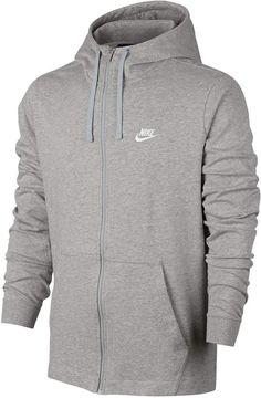 Nike Big   Tall Full-Zip Jersey Hoodie e3d3b89e8