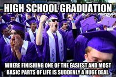 High school graduation: Put in perspective