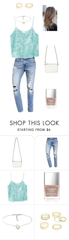 """Blonde"" by www-blon ❤ liked on Polyvore featuring Miss Selfridge, Abercrombie & Fitch, MANGO, Butter London and Charlotte Russe"