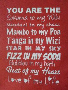 V day Kenya style