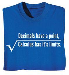 For my math nerd