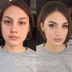 Avant et après La puissance du maquillage en 21 photos.
